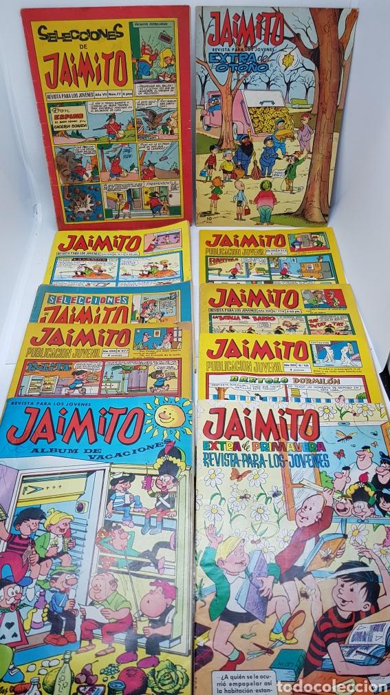 LOTE JAIMITO SELECCIONES EXTRA OTOÑO PRIMAVERA 1966 1967 1968 (Tebeos y Comics - Valenciana - Jaimito)