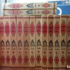 Tebeos: EL GUERRERO DEL ANTIFAZ COMPLETA, 17 TOMOS, 343 TEBEOS. Lote 258798880