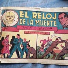 Tebeos: EL RELOJ DE LA MUERTE ROBERTO ALCÁZAR. Lote 258834990