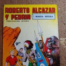 BDs: COMIC DE ROBERTO ALCAZAR Y PEDRIN EN MAGIA NEGRA Nº 117. Lote 260310215