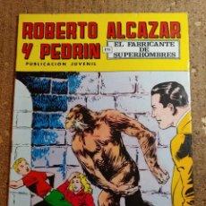 Tebeos: COMIC DE ROBERTO ALCAZAR Y PEDRIN EN EL FABRICANTE DE SUPERHOMBRES Nº 123. Lote 260313130