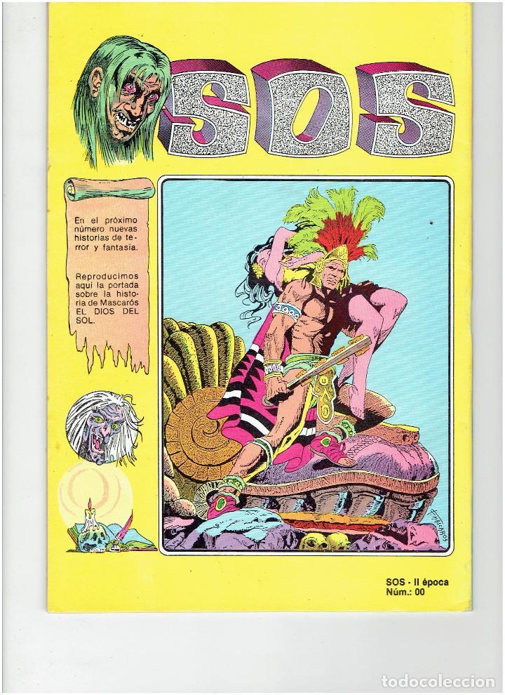 Tebeos: Archivo * 2 Comic SOS * Revista de terror para adultos nº 00 - 02. Editval 1984 * - Foto 3 - 260320550