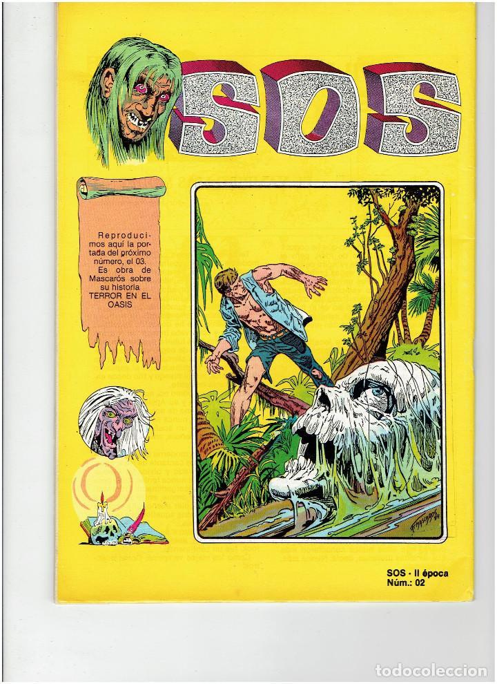 Tebeos: Archivo * 2 Comic SOS * Revista de terror para adultos nº 00 - 02. Editval 1984 * - Foto 5 - 260320550