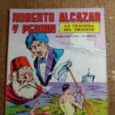Tebeos: COMIC DE ROBERTO ALCAZAR Y PEDRIN EN LA TRAGEDIA DEL ORIENTE Nº 11. Lote 260373675
