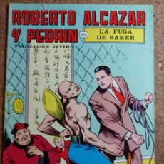 Tebeos: COMIC DE ROBERTO ALCAZAR Y PEDRIN EN LA FUGA DE BAKER Nº 8. Lote 260373830