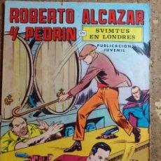 Tebeos: COMIC DE ROBERTO ALCAZAR Y PEDRIN EN SVIMTUS DE LONDRES Nº 7. Lote 260373960