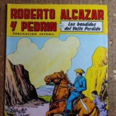Tebeos: COMIC DE ROBERTO ALCAZAR Y PEDRIN EN LOS BANDIDOS DEL VALLE PERDIDO Nº 246. Lote 260374070