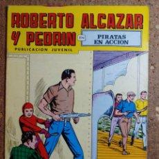 Livros de Banda Desenhada: COMIC DE ROBERTO ALCAZAR Y PEDRIN EN PIRATAS EN ACCIÓN Nº 166. Lote 260374535