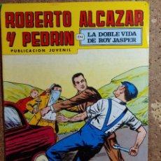 Livros de Banda Desenhada: COMIC DE ROBERTO ALCAZAR Y PEDRIN EN LA DOBLE VIDA DE ROY JASPER Nº 163. Lote 260374755