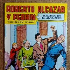 Tebeos: COMIC DE ROBERTO ALCAZAR Y PEDRIN EN MISTERIO EN EL ANTÁRTICO Nº 156. Lote 260375015