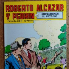 Livros de Banda Desenhada: COMIC DE ROBERTO ALCAZAR Y PEDRIN EN MISTERIO EN EL ESTADIO Nº 155. Lote 260375110