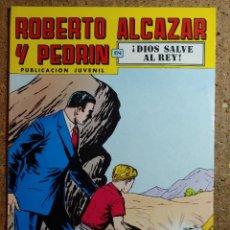 Livros de Banda Desenhada: COMIC DE ROBERTO ALCAZAR Y PEDRIN EN DIOS SALVE AL REY Nº 150. Lote 260375325