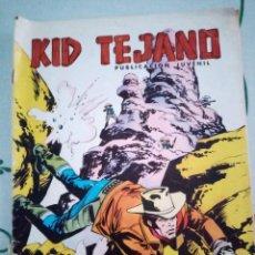 Tebeos: KID TEJANO N°26- COLOSOS DEL COMIC N°123 ED. VALENCIANA DE 1980. Lote 260518375