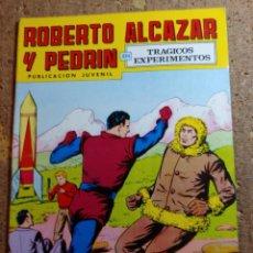 Livros de Banda Desenhada: COMIC DE ROBERTO ALCAZAR Y PEDRIN EN TRAGICOS EXPERIMENTOS Nº 162. Lote 260873695
