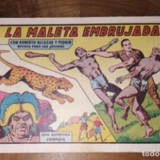 BDs: LA MALETA EMBRUJADA. CON ROBERTO ALCAZAR Y PEDRIN. Nº 430. AÑO 1958. BUEN ESTADO.. Lote 261113445