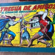 Tebeos: ESPADACHÍN ENMASCARADO. OBRA COMPLETA. ENCUADERNADA. MANUEL GAGO.. Lote 261118060