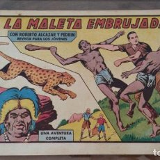 BDs: LA MALETA EMBRUJADA. CON ROBERTO ALCAZAR Y PEDRIN. Nº 430. AÑO 1958. BUEN ESTADO.. Lote 261190940