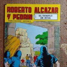 Tebeos: COMIC DE ROBERTO ALCAZAR Y PEDRIN EN EL TEMPLO DE BUDA Nº 211. Lote 261219695