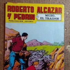 Tebeos: COMIC DE ROBERTO ALCAZAR Y PEDRIN EN MUZO EL TRAIDOR Nº 169. Lote 261219905