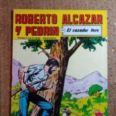 Tebeos: COMIC DE ROBERTO ALCAZAR Y PEDRIN EN EL CAZADOR LOCO Nº 224. Lote 261220010