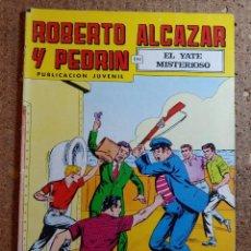 Tebeos: COMIC DE ROBERTO ALCAZAR Y PEDRIN EN EL YATE MISTERIOSO Nº 202. Lote 261220240