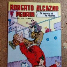 Tebeos: COMIC DE ROBERTO ALCAZAR Y PEDRIN EN EL TESORO DE LA MUERTE Nº 221. Lote 261220320