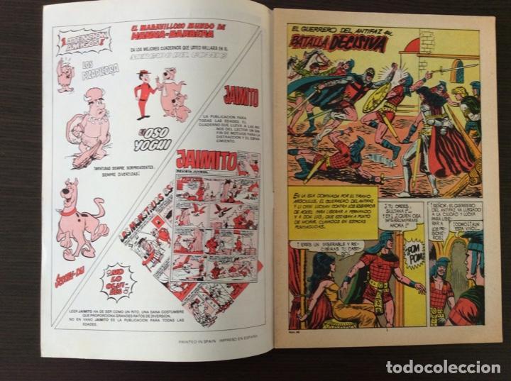 Tebeos: NUEVAS AVENTURAS DEL GUERRERO DEL ANTIFAZ NÚMERO 49 - Foto 2 - 261227000