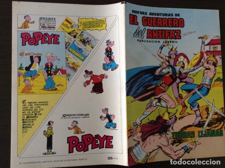 Tebeos: NUEVAS AVENTURAS DEL GUERRERO DEL ANTIFAZ 51 - Foto 5 - 261230290