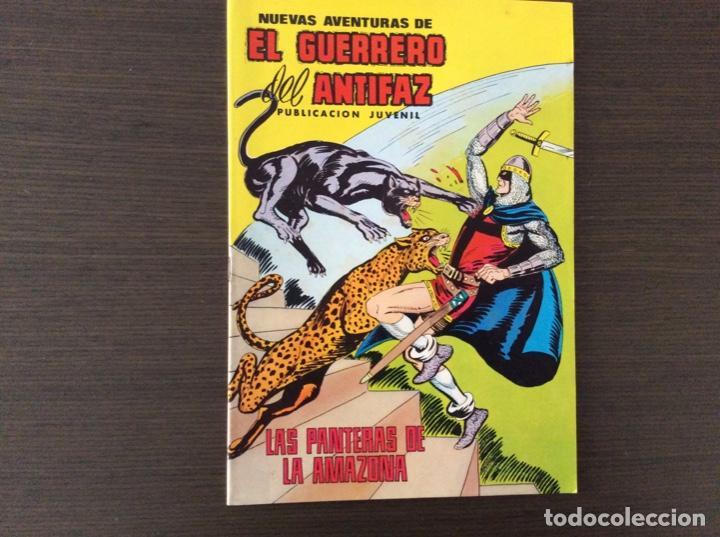 NUEVAS AVENTURAS DEL GUERRERO DEL ANTIFAZ 60 (Tebeos y Comics - Valenciana - Guerrero del Antifaz)