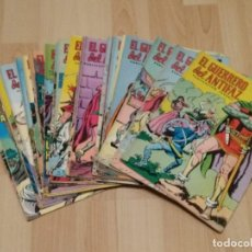 Tebeos: EL GUERRERO DEL ANTIFAZ. EDITORIAL VALENCIANA 1972. 270 NÚMEROS + 2 EXTRA VACACIONES. Lote 261296985