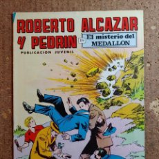 Livros de Banda Desenhada: COMIC DE ROBERTO ALCAZAR Y PEDRIN EN EL MISTERIO DEL MEDALLON Nº 104. Lote 261332310