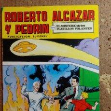 Livros de Banda Desenhada: COMIC DE ROBERTO ALCAZAR Y PEDRIN EN EL MISTERIO DE LOS PLATILLOS VOLANTES Nº 103. Lote 261332460