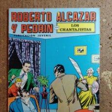 BDs: COMIC DE ROBERTO ALCAZAR Y PEDRIN EN LOS CHANTAJISTAS Nº 27. Lote 261333205