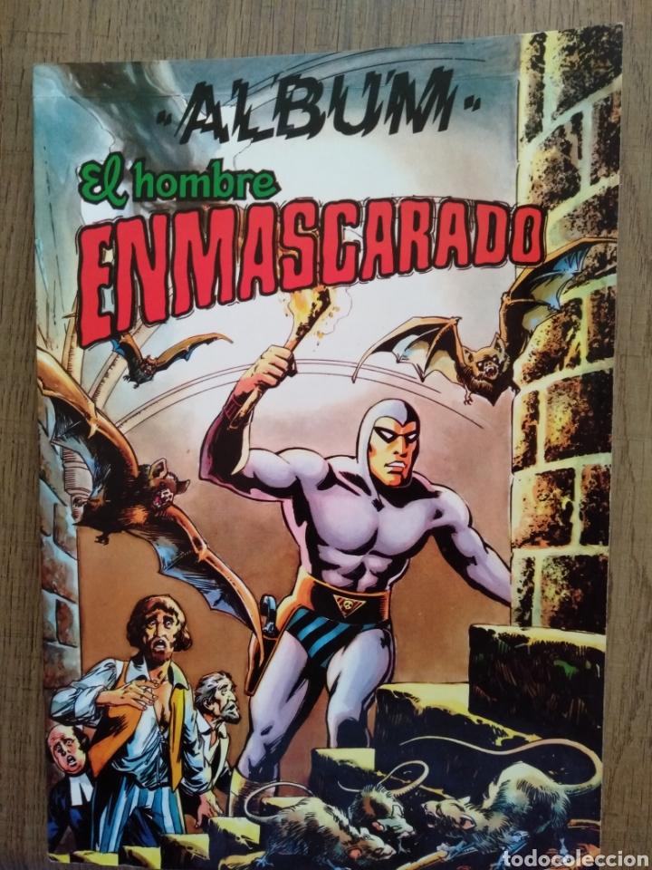 ÁLBUM EL HOMBRE ENMASCARADO TOMO 4. EDITORA VALENCIANA. 1980 (Tebeos y Comics - Valenciana - Colosos del Comic)