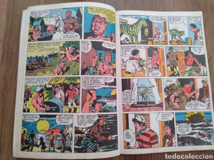 Tebeos: Álbum El Hombre Enmascarado Tomo 1. Editora Valenciana. 1980. - Foto 2 - 261793105