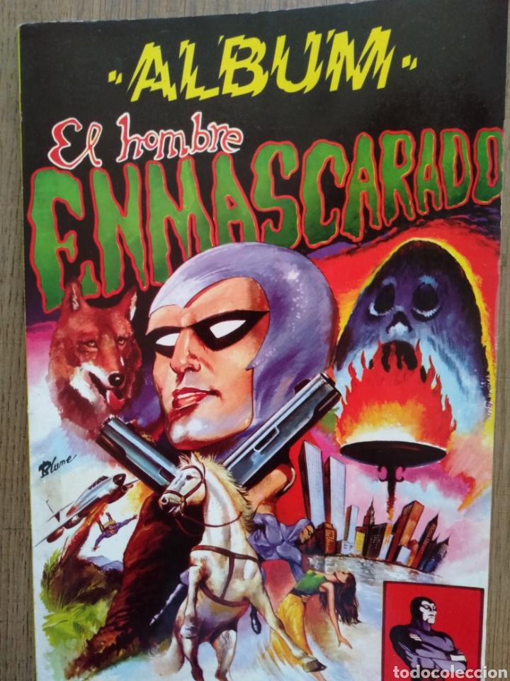 ÁLBUM EL HOMBRE ENMASCARADO TOMO 1. EDITORA VALENCIANA. 1980. (Tebeos y Comics - Valenciana - Colosos del Comic)