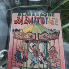 Tebeos: ALMANAQUE JAIMITO 1952. Lote 261967160