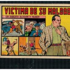 BDs: ROBERTO ALCAZAR Y PEDRÍN 306 ORIGINAL. VALENCIANA. DE 1'25 PTS. MUY BUENO.. Lote 261989700