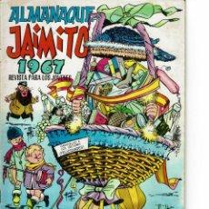 Tebeos: ALMANAQUE JAIMITO PARA 1967 ( SE ESTUDIAN OFERTAS). Lote 262051225