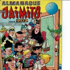 Tebeos: ALMANAQUE JAIMITO PARA 1972(SE ESTUDIAN OFERTAS). Lote 262051375