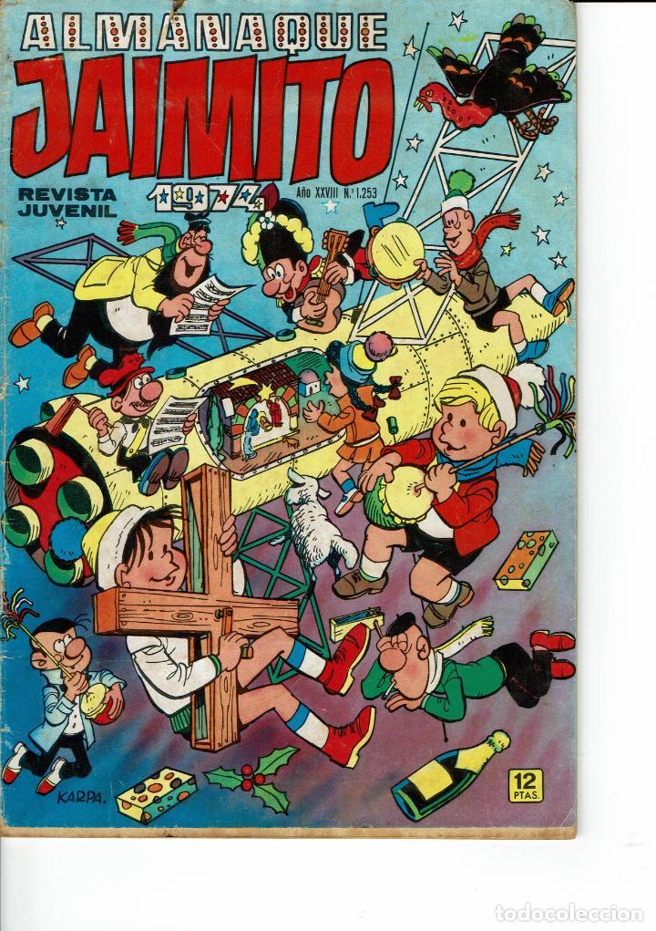 ALMANAQUE JAIMITO PARA 1974 (SEESTUDIAN OFERTAS) (Tebeos y Comics - Valenciana - Jaimito)