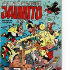 Tebeos: ALMANAQUE JAIMITO PARA 1974 (SEESTUDIAN OFERTAS). Lote 262051500