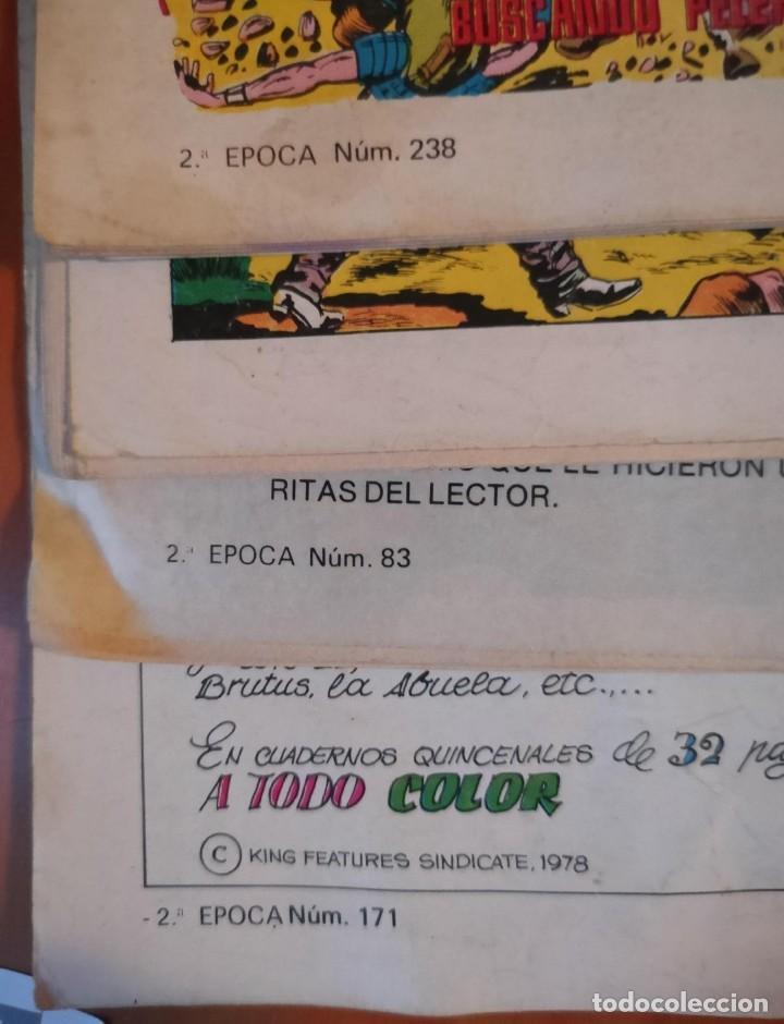 Tebeos: ROBERTO ALCAZAR Y PEDRIN. 2ª SEGUNDA EPOCA - VALENCIANA.- COLOR.- LOTE DE 4 REVISTAS.- EXTRA 31 - Foto 2 - 262078200