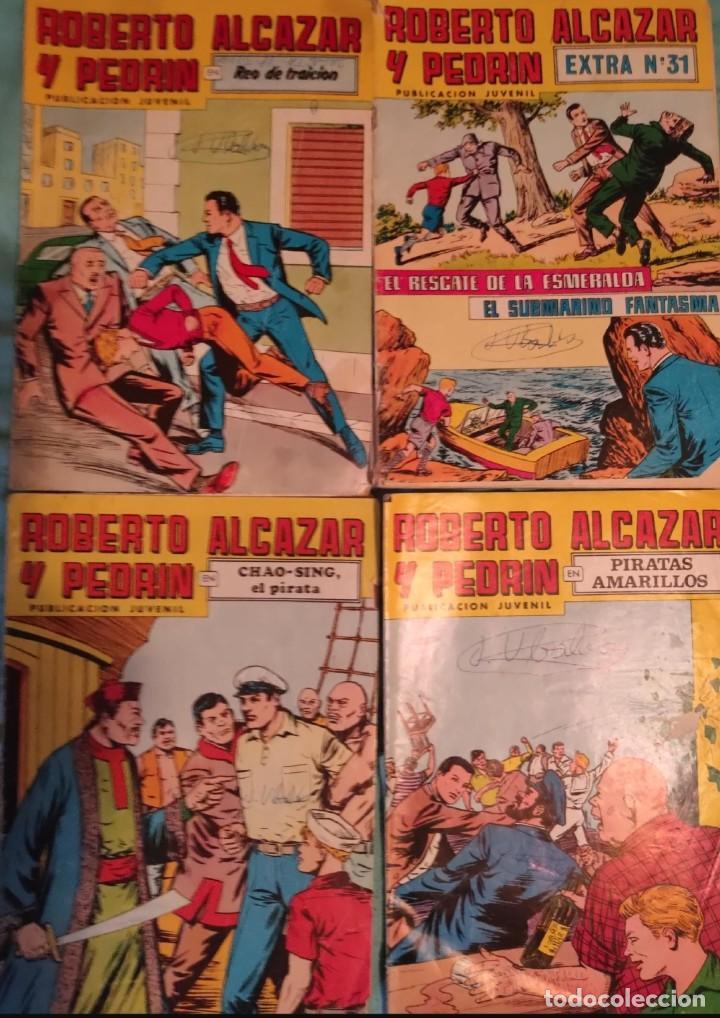 ROBERTO ALCAZAR Y PEDRIN. 2ª SEGUNDA EPOCA - VALENCIANA.- COLOR.- LOTE DE 4 REVISTAS.- EXTRA 31 (Tebeos y Comics - Valenciana - Roberto Alcázar y Pedrín)