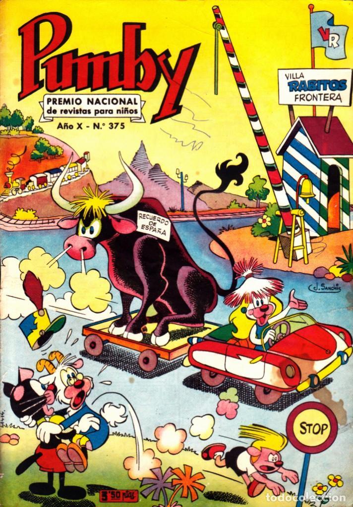 COMIC COLECCION PUMBY Nº 375 (Tebeos y Comics - Valenciana - Pumby)