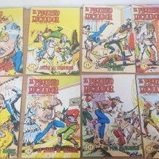 Tebeos: LOTE 8 COMICS EL PEQUEÑO LUCHADOR SELECCION AVENTURERA AÑOS 70 EDITORIAL VALENCIANA. Lote 262338715