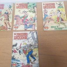 Tebeos: LOTE 4 COMICS EL PEQUEÑO LUCHADOR SELECCION AVENTURERA AÑOS 70 EDITORIAL VALENCIANA. Lote 262339340