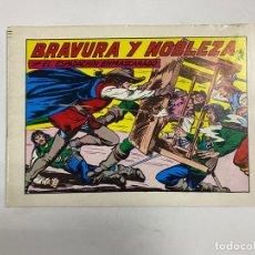 Tebeos: EL ESPADACHIN ENMASCARADO. Nº 58.- BRAVURA Y NOBLEZA. EDITORA VALENCIANA. Lote 262455690