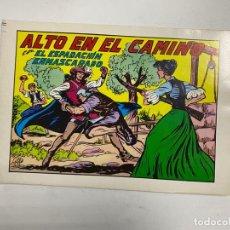 Tebeos: EL ESPADACHIN ENMASCARADO. Nº 61.- ALTO EN EL CAMINO. EDITORA VALENCIANA. Lote 262456045