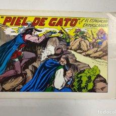 Tebeos: EL ESPADACHIN ENMASCARADO. Nº 68.- PIEL DE GATO. EDITORA VALENCIANA. Lote 262456860